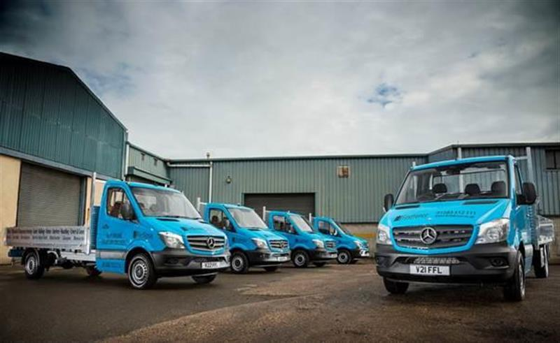 First Fence Builds For Growth With Mercedes Sprinters