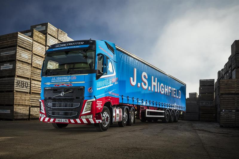 Volvo FH delivers height and durability for JS Highfield