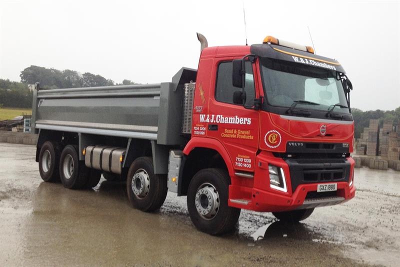 W Amp J Chambers Wins Dennison S Volvo Fmx Auction