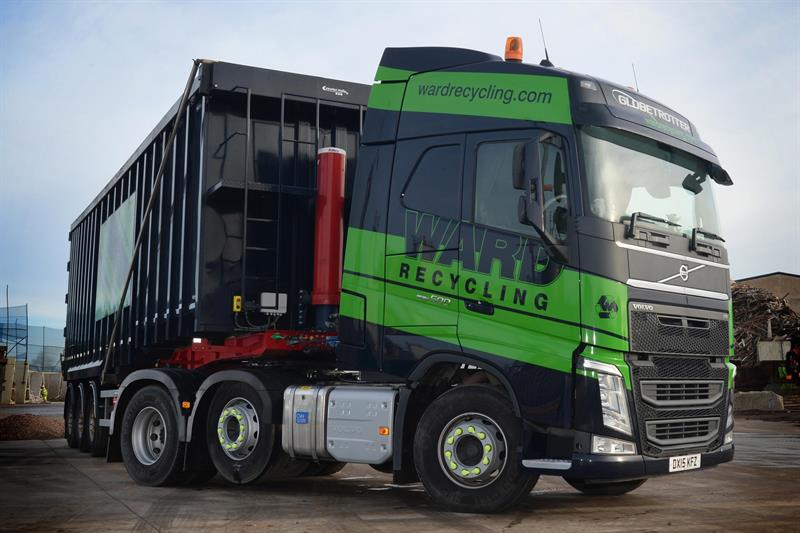 Volvo Fh Tractors Tick The Boxes For Ward Recycling