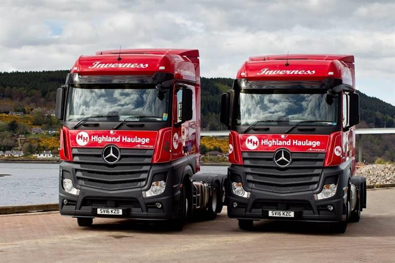 Highland Haulage Has High Praise For Mercedes Actros