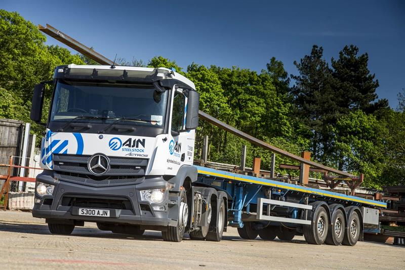 Atf seals the deal for ajn steelstock and mercedes for Local mercedes benz dealer