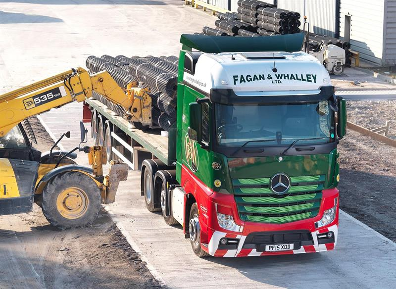 Fagan Whalley Orders Two More Mercedes Actros Tractors
