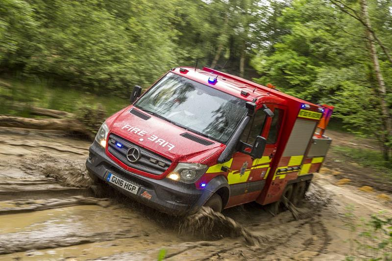 First 6x6 Mercedes-Benz Sprinter goes to West Sussex Fire & Rescue 25