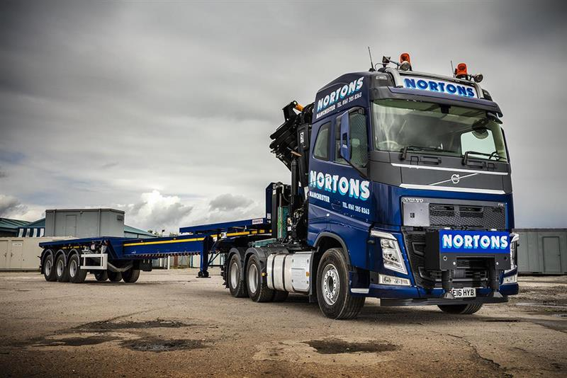 grabs first volvo crane truck with 10tonne front axle rating19 august