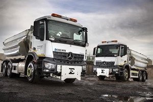 Skanska keeps peterborough moving with arocs gritters for Mercedes benz winter event commercial