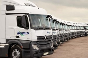 Acumen accelerates fleet efficiency with 23 mercedes actros for Mercedes benz strategic plan