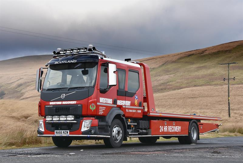 Westons expands recovery fleet with Volvo FL