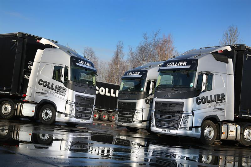 Collier Haulage Goes For Another Nine Volvo Fh Tractor Units