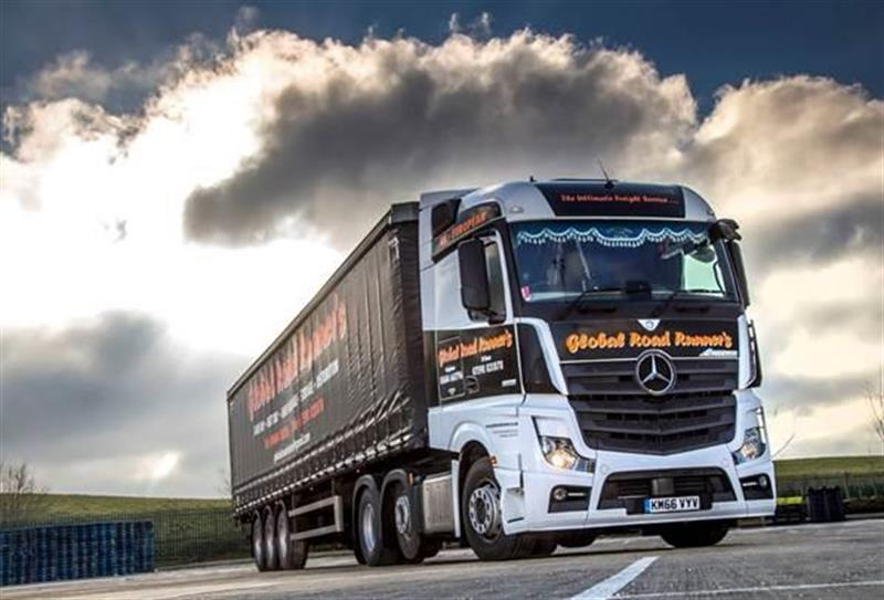 Global Quest For Fuel Efficiency With Mercedes Actros