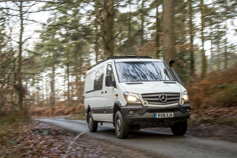 mercedes benz sprinter oberaigner 4x4 ready for adventure. Black Bedroom Furniture Sets. Home Design Ideas