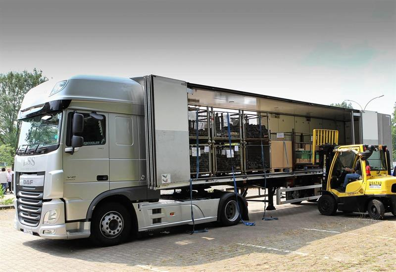 ekeri trailers returns to cv show with adr ex iii semi