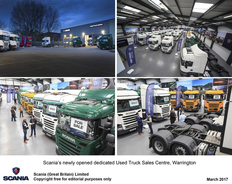 Scania Opens Europe S First Indoor Used Truck Sales Centre