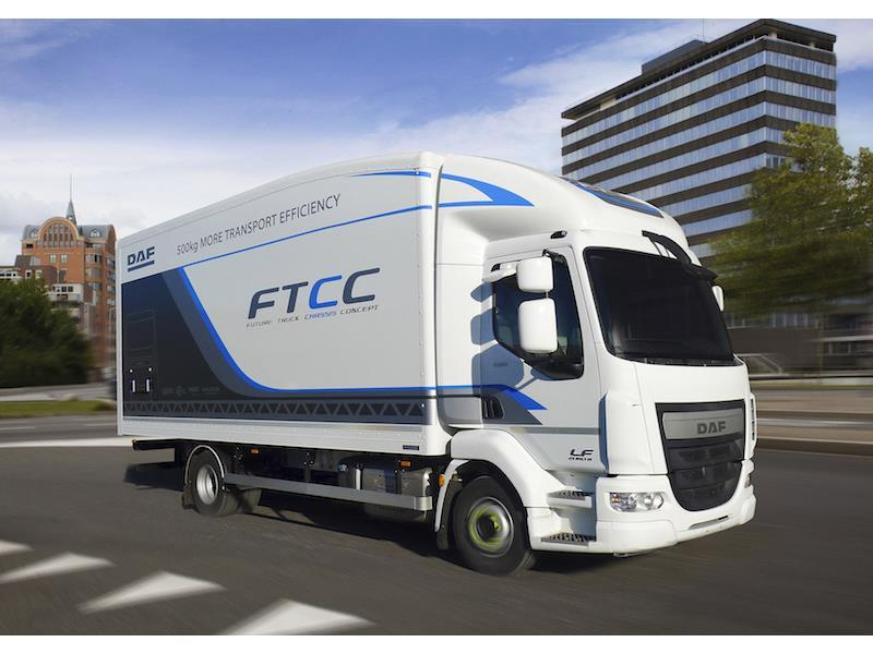 daf looks to the future at cv show