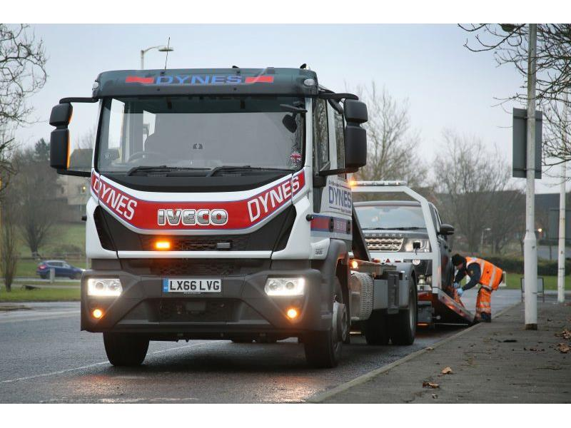 Recovery position: Dynes picks Iveco Eurocargo