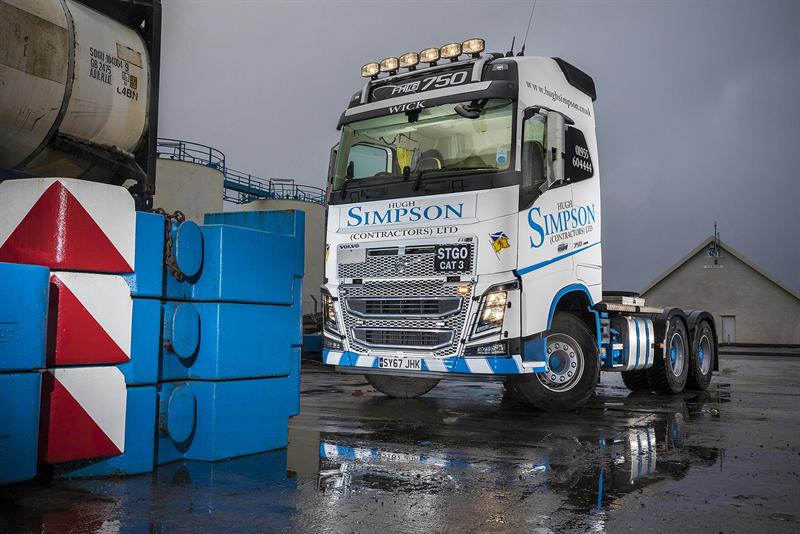 Crane hire firm has high hopes for Volvo FH16-750 flagship