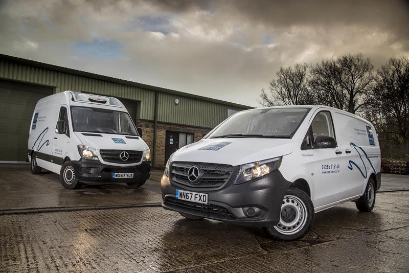 Seafood specialist orders 11 mercedes benz vans from rygor for Mercedes benz roadside assistance free