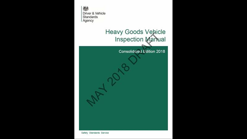 upcoming changes to truck testing listed rh transportengineer org uk dvsa hgv mot inspection manual OSHA Inspection Manual