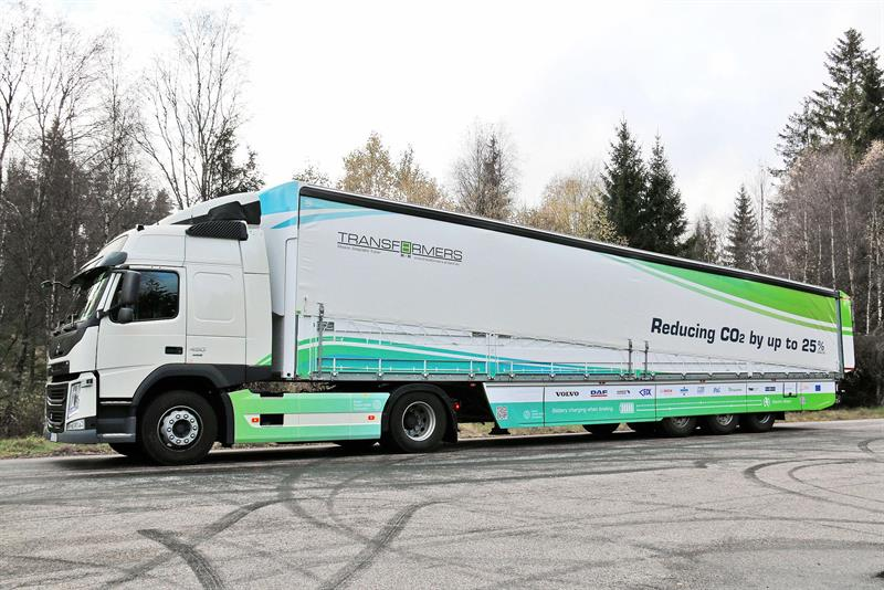 Semi Trailer Slipstreaming