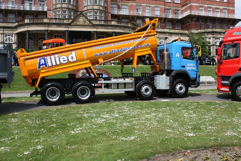 Tippers and rigid chassis: Getting your hands dirty