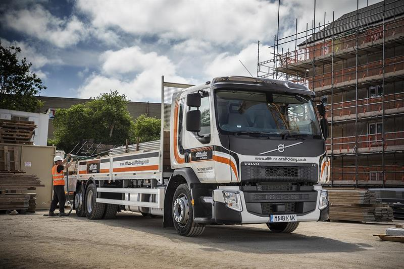Scaffolding Firm Raises Payload Capacity With Volvo Fe Rigids