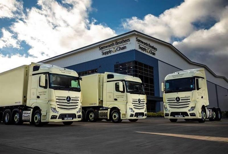 Samworth Brothers adds 18 Mercedes-Benz Actros to fleet
