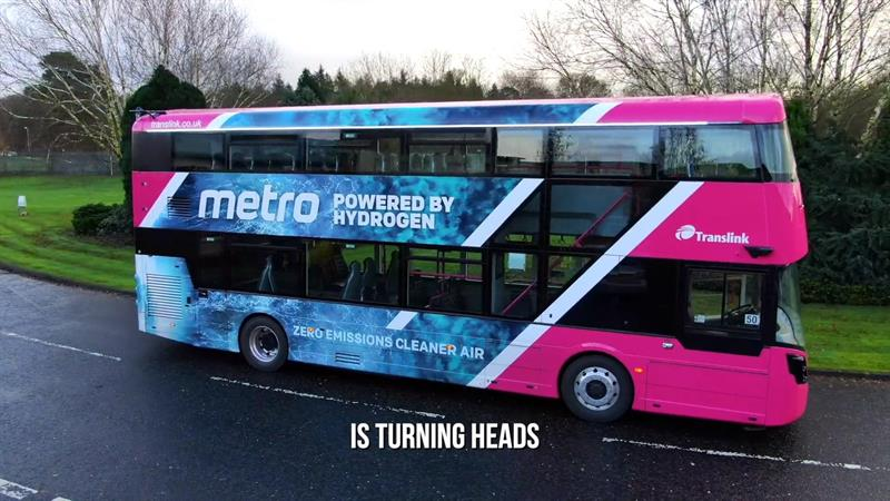 Transport Engineer: Ministers welcome arrival of first hydrogen powered buses in Northern Ireland.