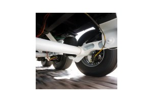 Trailer suspension gives low cost extension to axle life