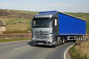 Stress relief with new Mercedes-Benz Actros trucks