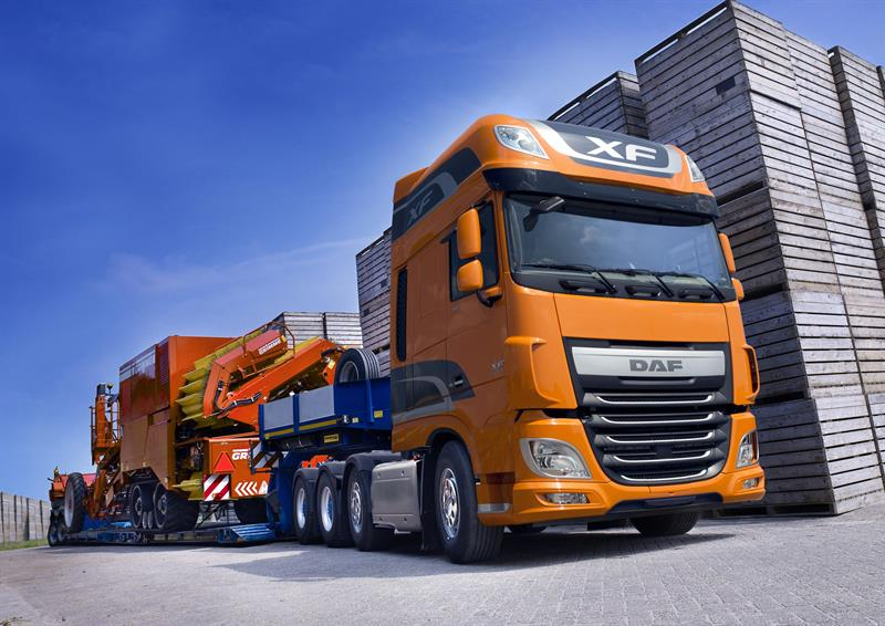 daf transport efficiency new theme for 2015 cv show