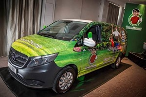 Lawn care business gives thumbs up to mercedes vito for Garden maintenance van