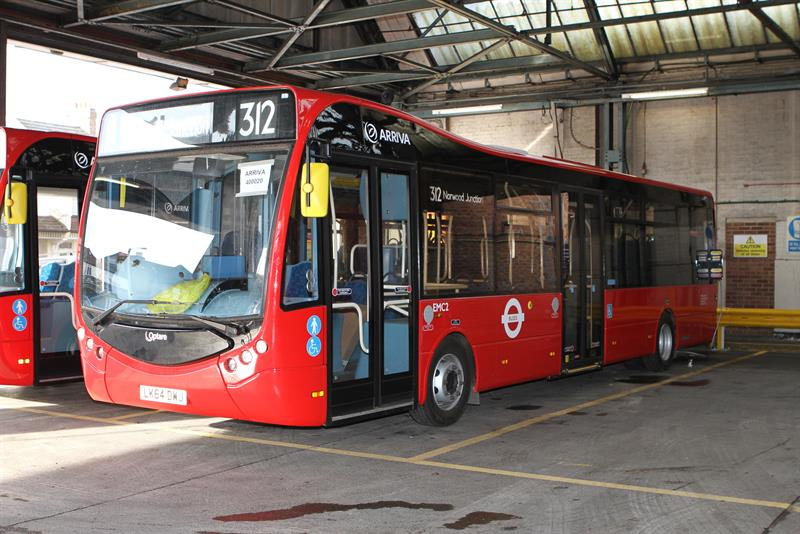 Optare Metrocity Buses For London S Electric Bus Route