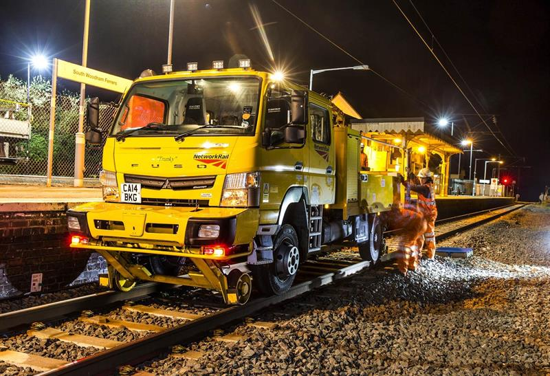 Network Rail Commissions Combo Road And Rail Canters