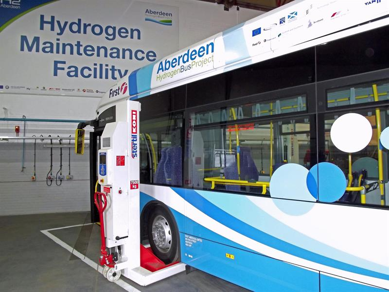 Uk S First Hydrogen Bus Refuelling Station Selects Stertil