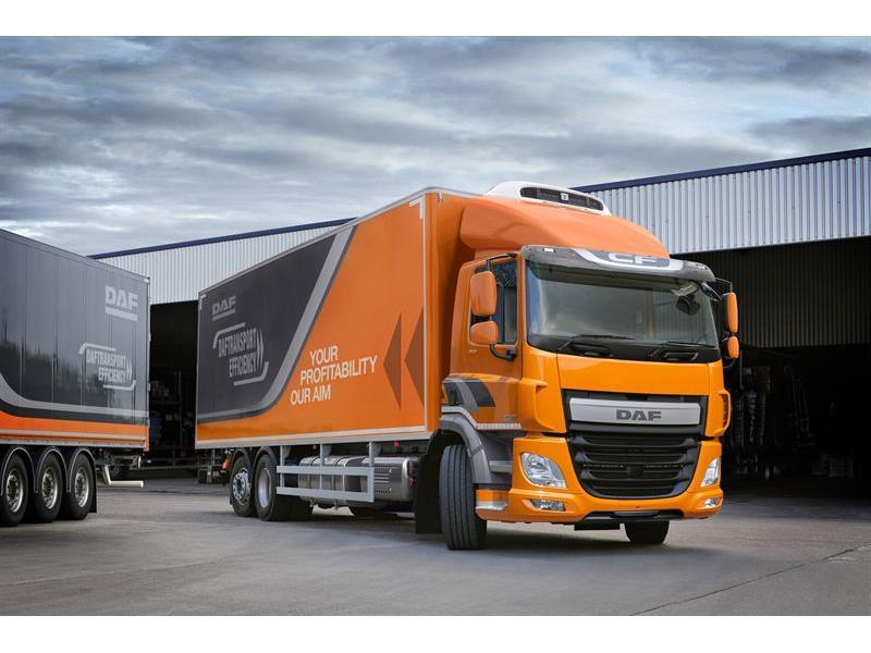 DAF unveils three-axle options for CF truck with PX-7 engine