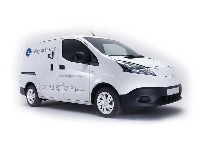 Fuel Cell Technology Specialist Intelligent Energy Is Showing Two Zero Emission Range Extended Zere Light Commercial Vehicles At Today S 10 September